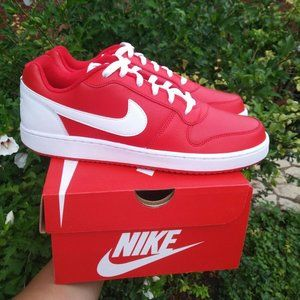 NIKE Shoes Ebernon Low Red Sneakers